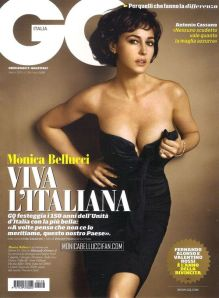 GQ Italia March 2011 Monica Bellucci