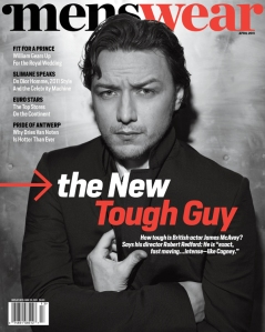 Menswear April 2011 James McAvoy by Lorenzo Agius