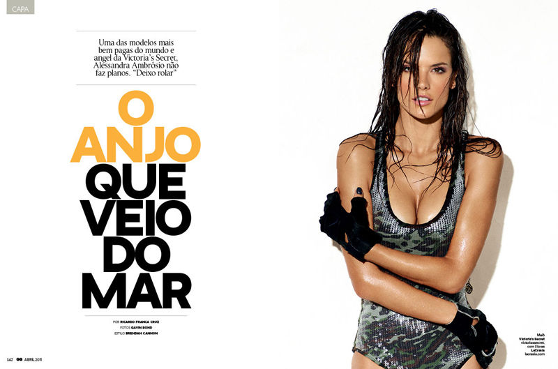 Alessandra Ambrósio by Gavin Bond for GQ Brasil Premiere Issue - April 2011 1