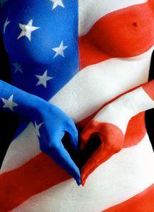 AmericanFlag_BodyPaint.jpg (432×595)
